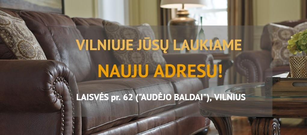 naujas vilniaus Adorno salono adresas